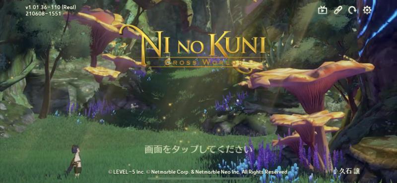 Ninokuni Cross world